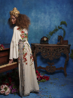Shamaeel - Floor-Length Long Kaftan - F-6 A