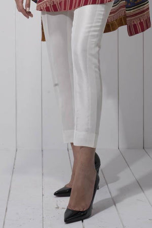 Sania Maskatiya - Plain Raw Silk Pants
