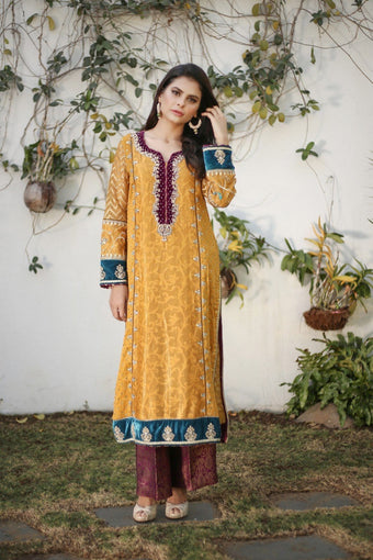 Insam - Yellow Ferozee Yasmeen