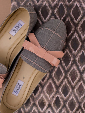Basic - Grey Loafers - B19-34