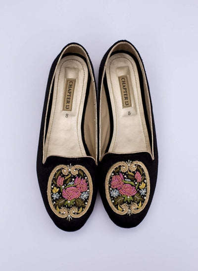 Chapter 13 - Black French Garden Loafers