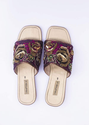 Chapter - 13 - Purple Jamani Gulab Chappals