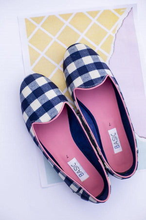 Basic - Blue Loafers - B19-38