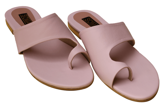 Soma - Baby Pink Toony Hand Crafted Footwear