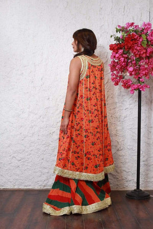 PinkTree - Orange Dress - Cheent Collection