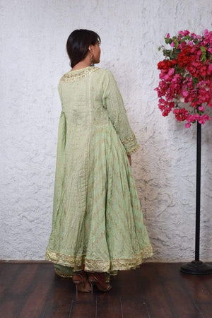 PinkTree - Light Green Dress - Summer Symphony Collection