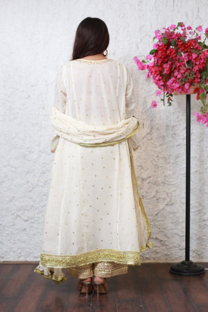 PinkTree - Off White Dress - Sitara Collection