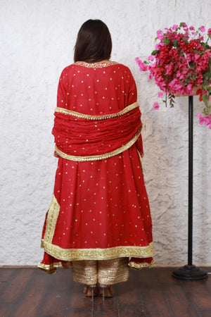 PinkTree - Red Dress - Sitara Collection