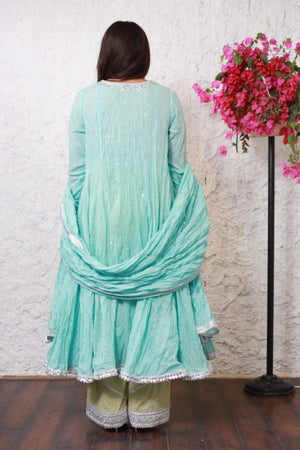 PinkTree - Blue Dress - Sitara Collection