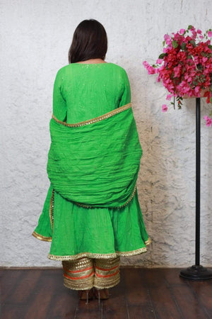 PinkTree - Green Dress - Kamdani Collection