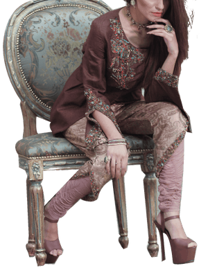 Nilofer Shahid - Syrup Pure Self Embroidered Jacket With Pants