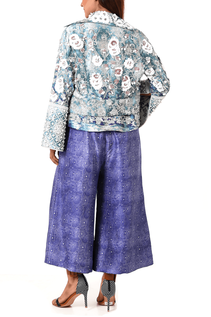 Shamaeel - Raw Silk Pants