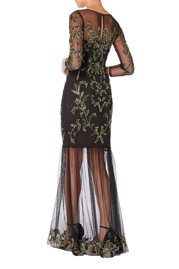 Raishma - Black Jessica Gown