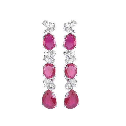 Amishi - Perry Chandelier Drop Earrings