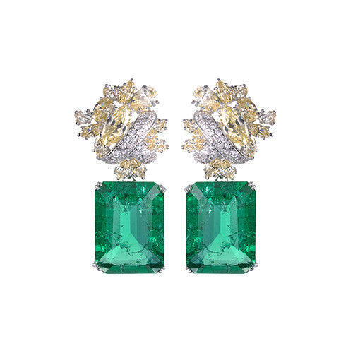 Amishi - Opulent Chandelier Style Earrings