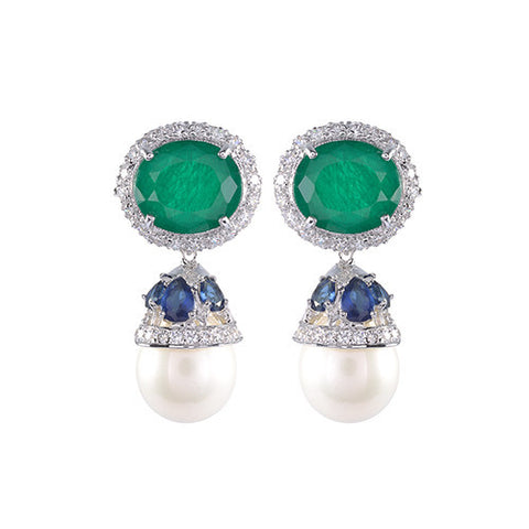Amishi - Elegant Drop Earrings