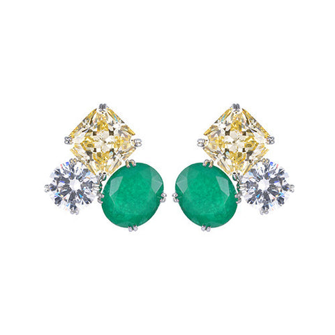 Amishi - Trio of Sparkling Earrings