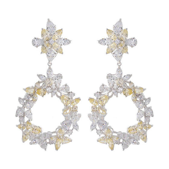 Amishi - Marty Chandelier Earrings