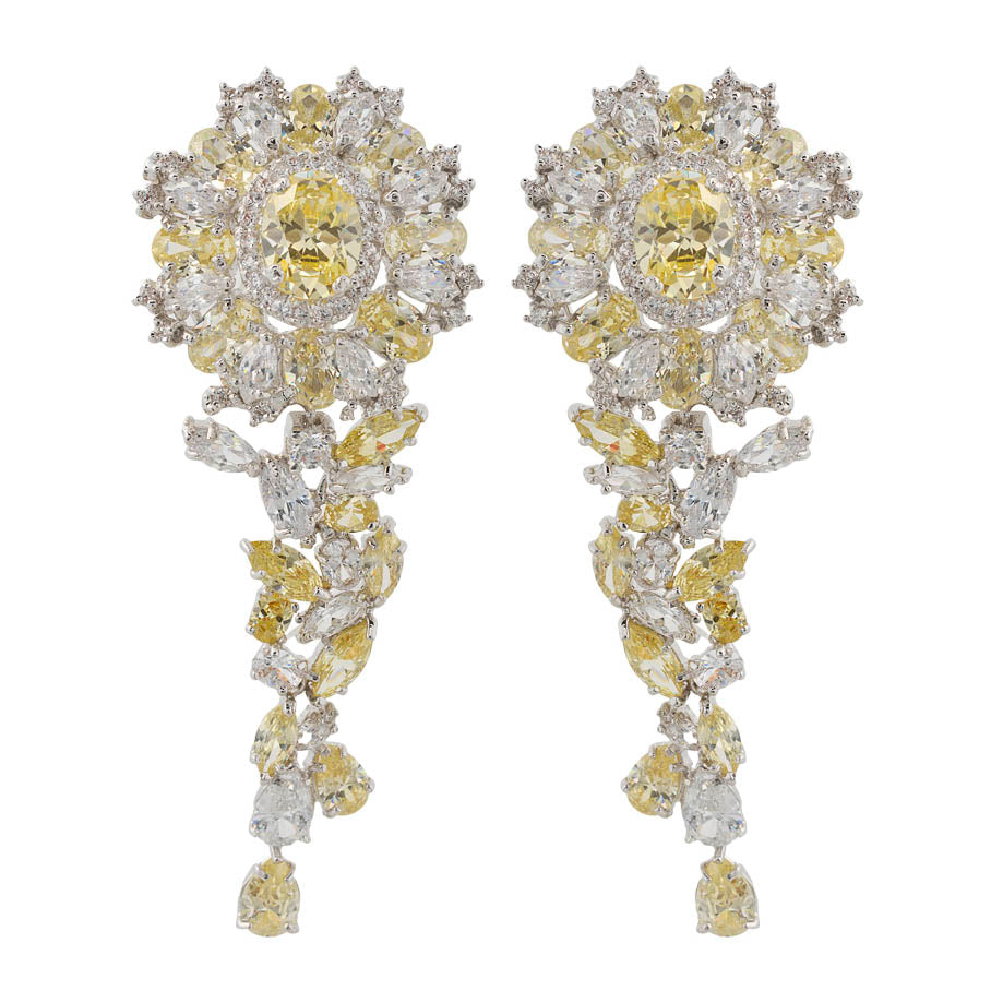 Amishi - Crystal Earrings