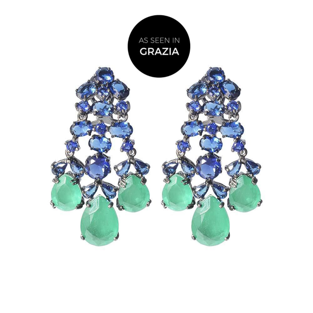 Amishi - Bea Chandilier Earrings