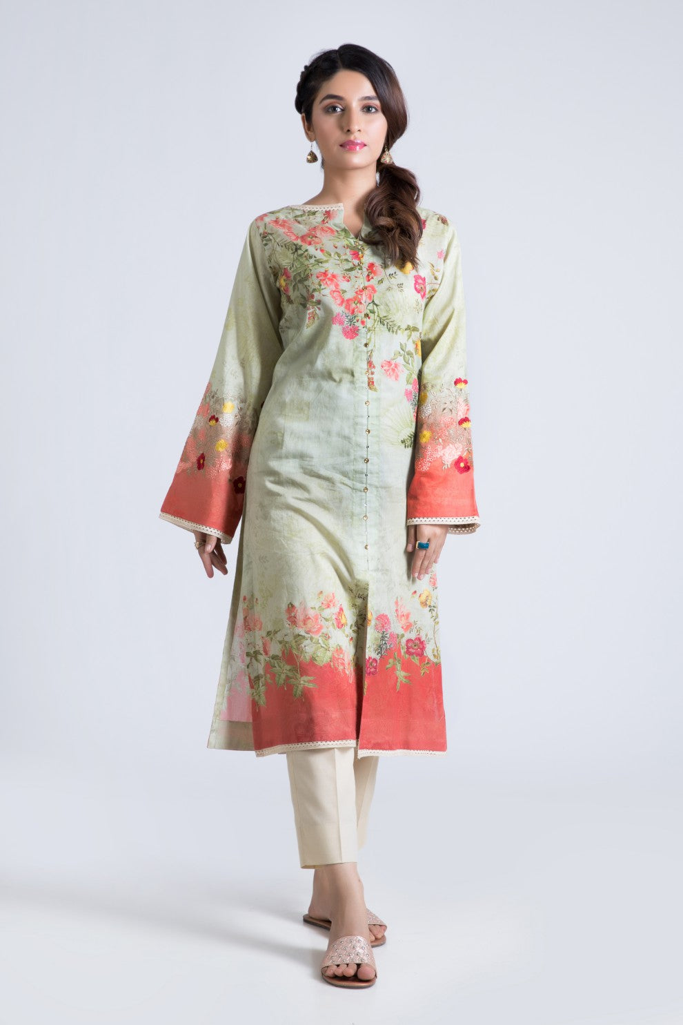 Bonanza Satrangi - Green Glory - 1 Pc