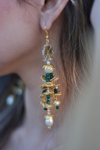 Chapter 13 - Green Latkan Earrings