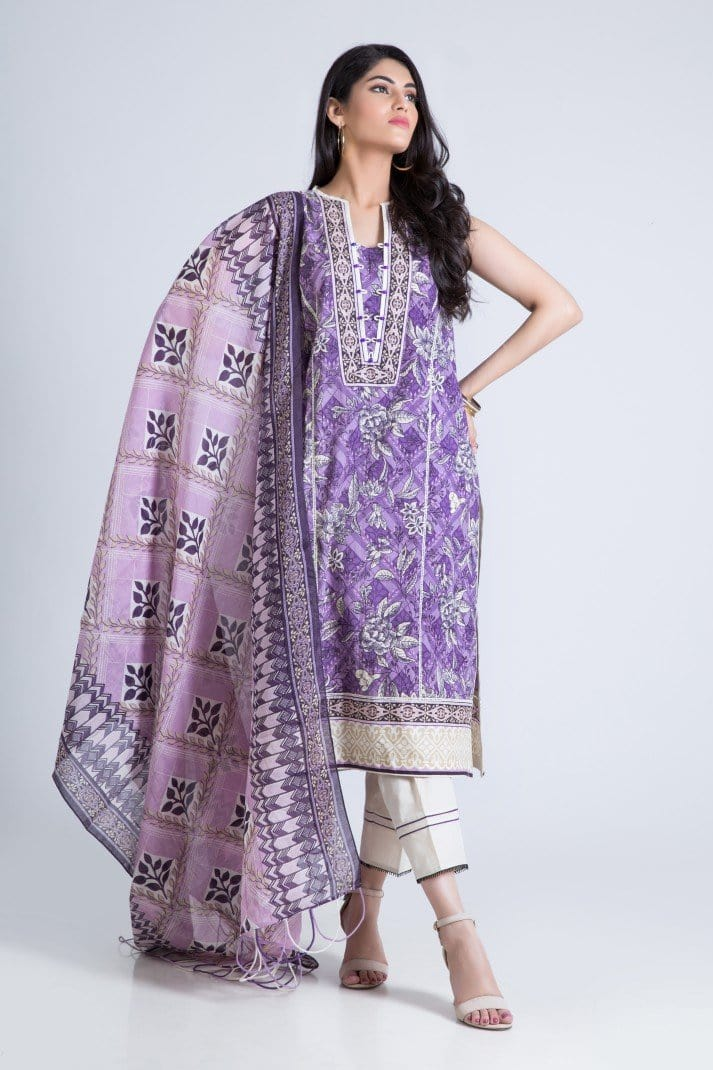 Bonanza Satrangi - Purple Sparkler B - 3 Pc