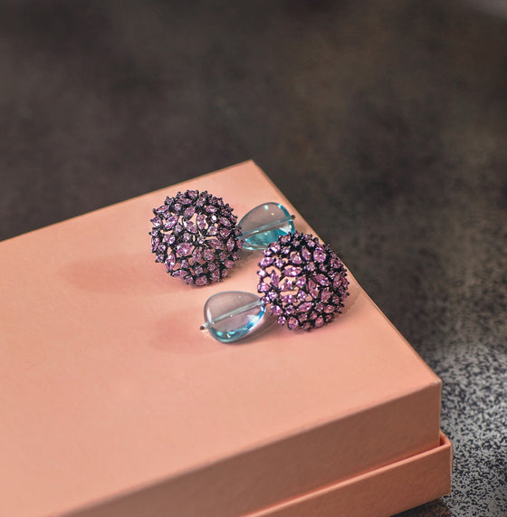 Allure By MHT- Lilac Mermaid Earring