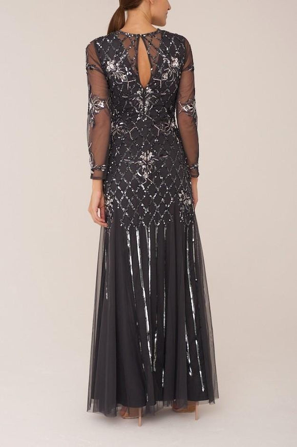 Raishma - Charcoal Madison Gown