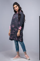 Alkaram Studio - Charcoal 1 Piece Mak Embroidered