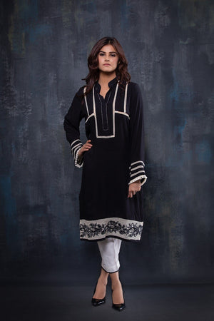 Insam - Black Kurta