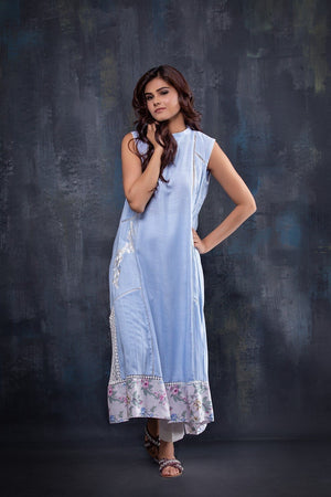 Insam - Blue Long Kurta