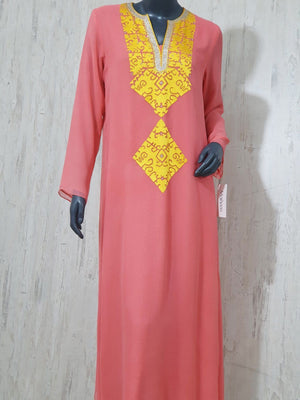 Maheen Khan - Peach Chiffon Kate Tunic Dress