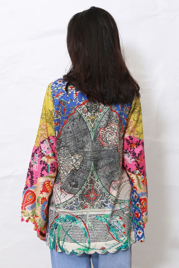 Generation - Multi Color Ottomon voyage top