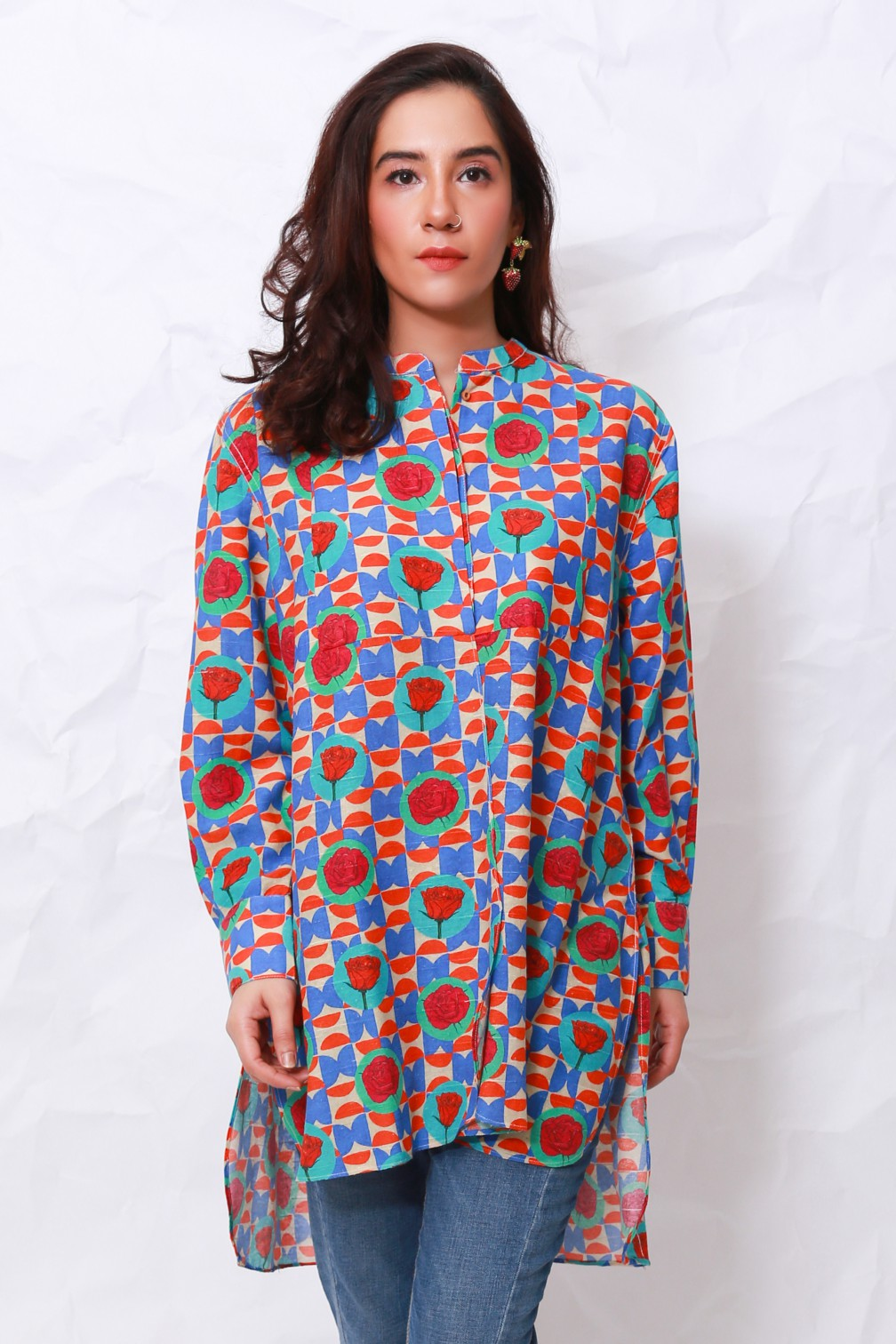 Generation - Multicolor Whatsup Warhol Flared Tunic