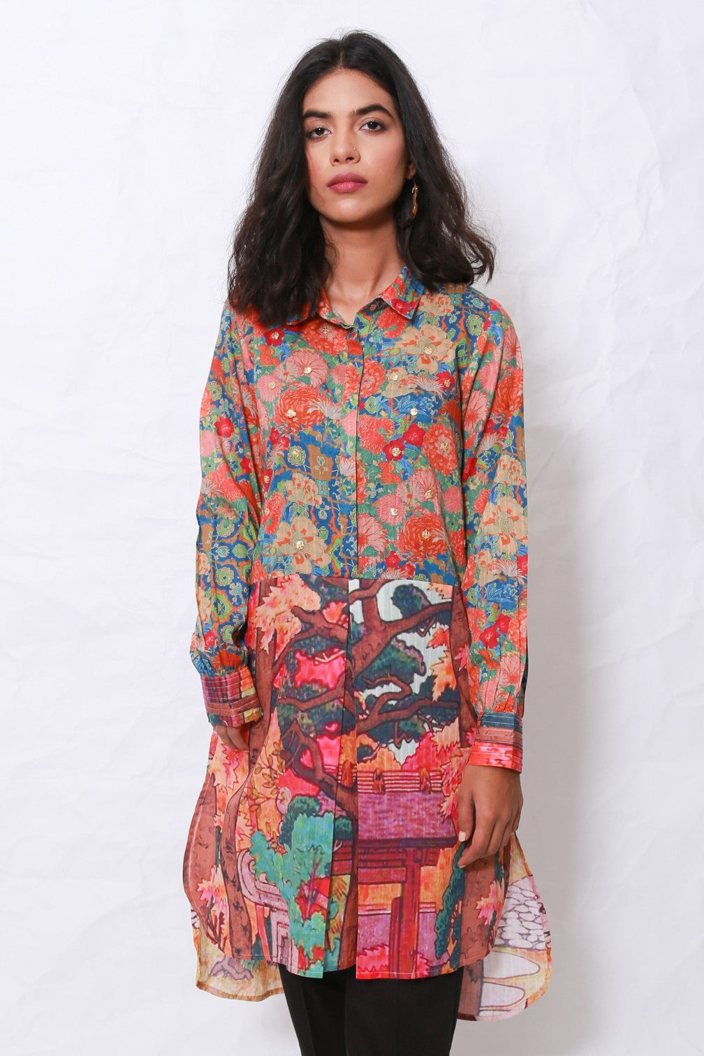 Generation - Multicolor Multani Expedition Tunic