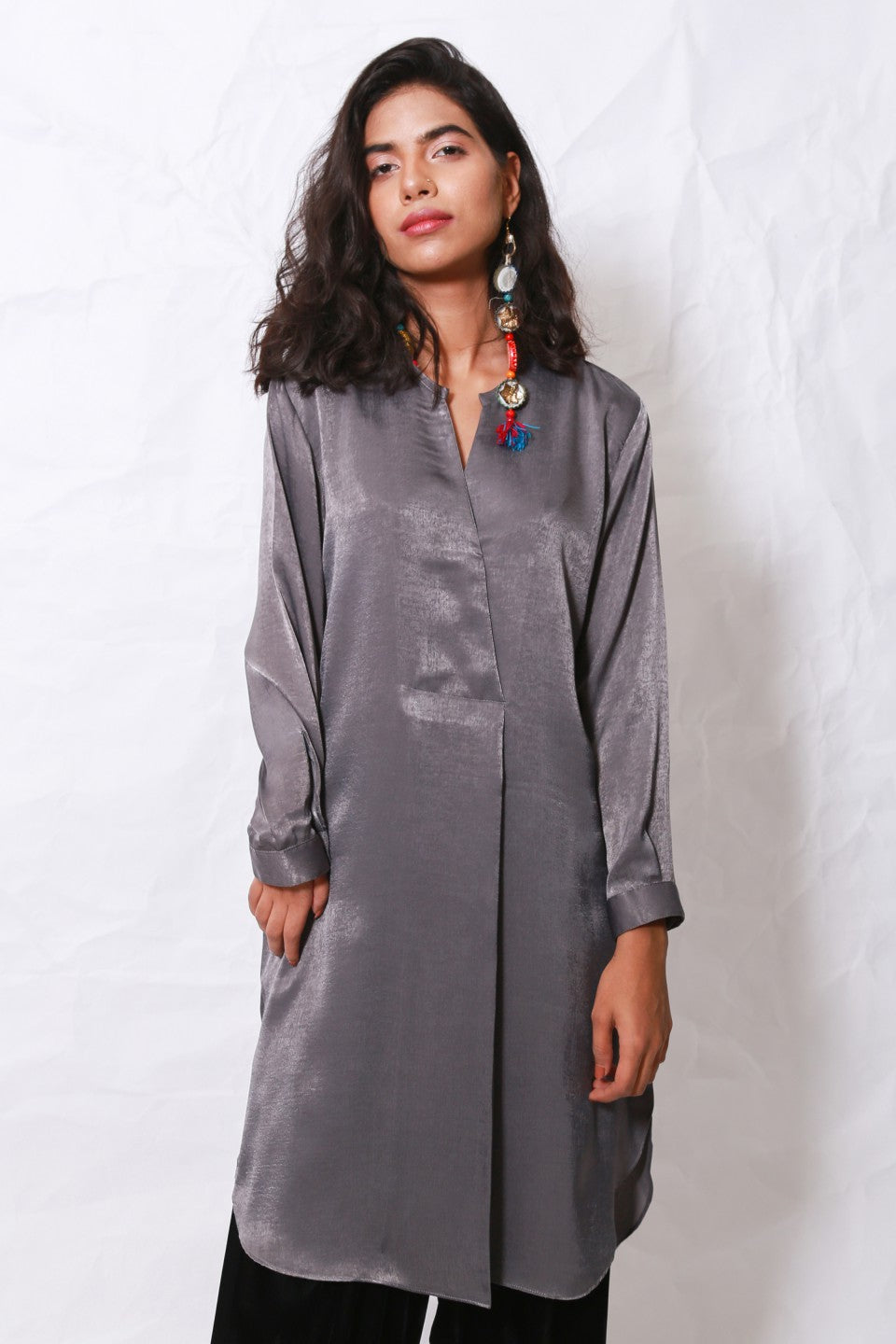 Generation - Grey Organic Modernity Tunic