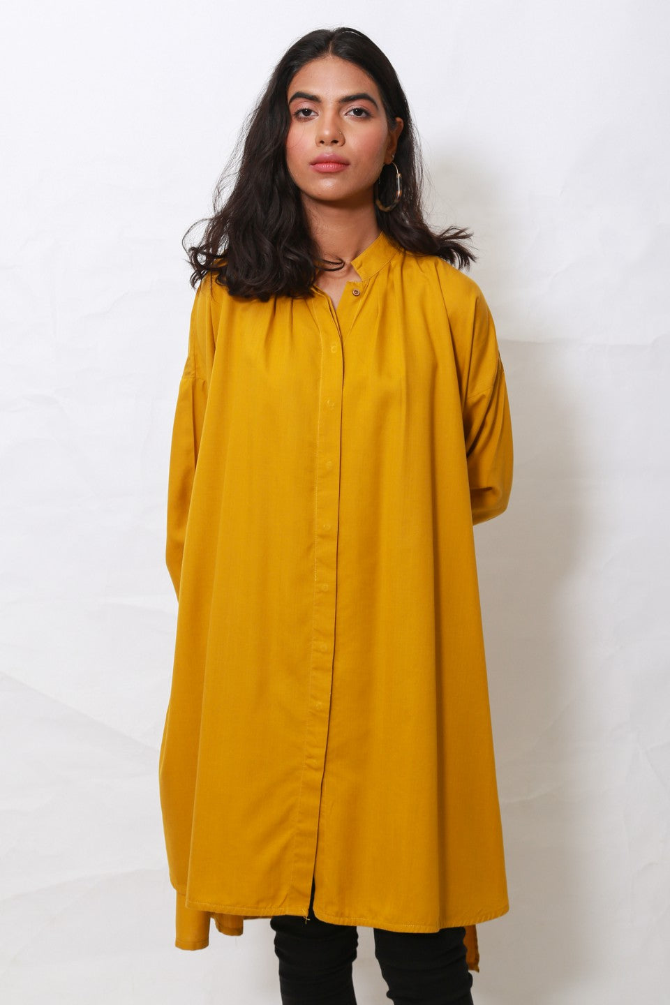 Generation - Golden Whatsup Warhol pleated tunic