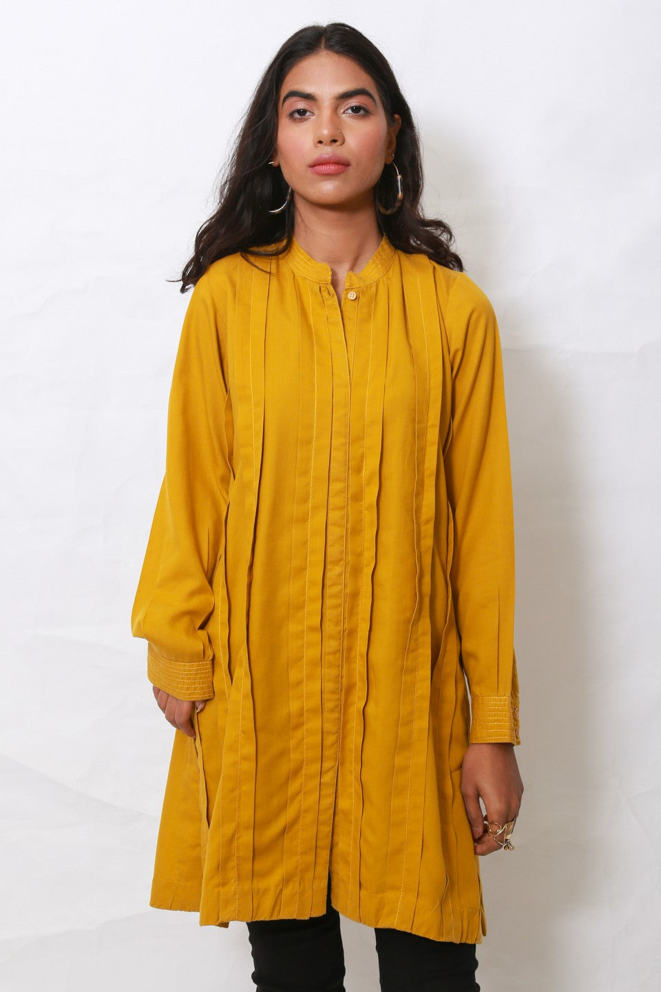 Generation - Golden Whatsup Warhol pleats tunic
