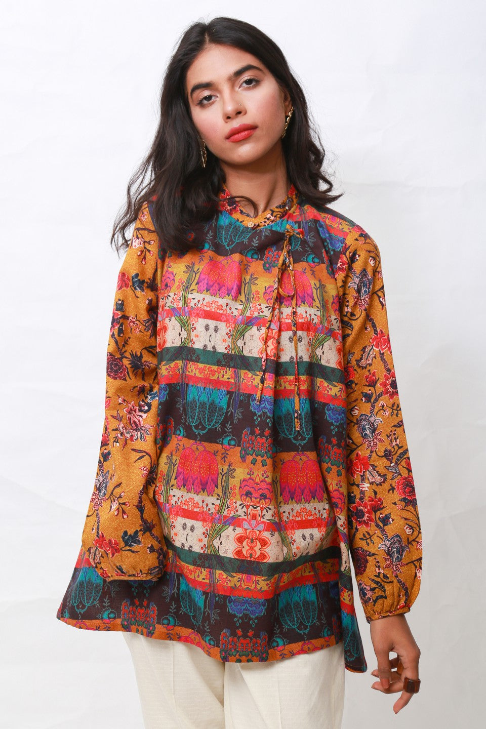 Generation - Multicolor Wardak Tunic