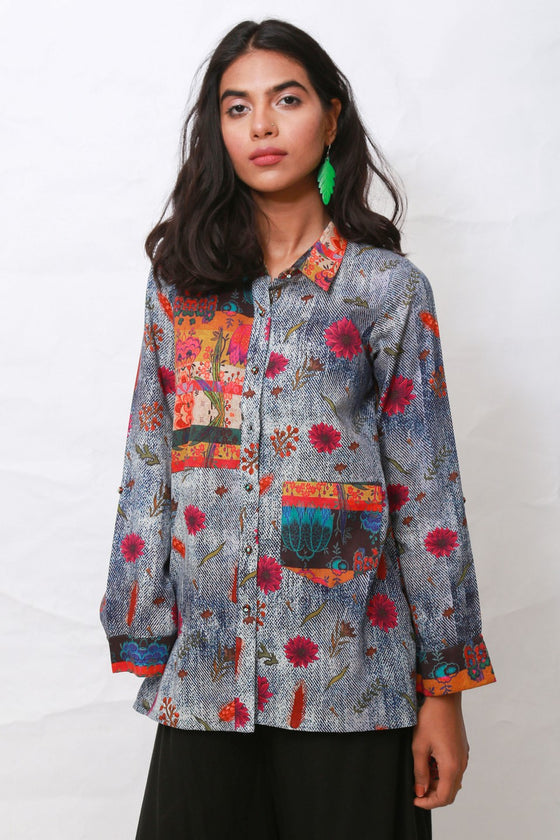 Generation - Blue Wardak Button-down Shirt