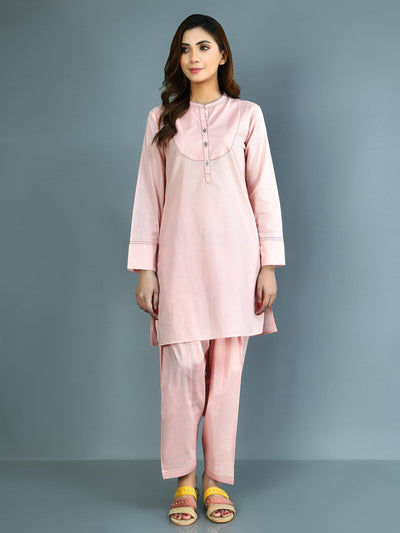 Limelight - Pink Embroidered Lawn Suit - 2 PC - P4617SU