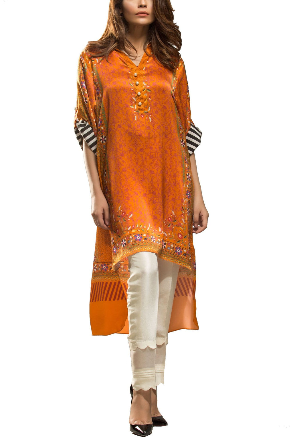 Sania Maskatiya - Digitally Printed Charmeuse Shirt