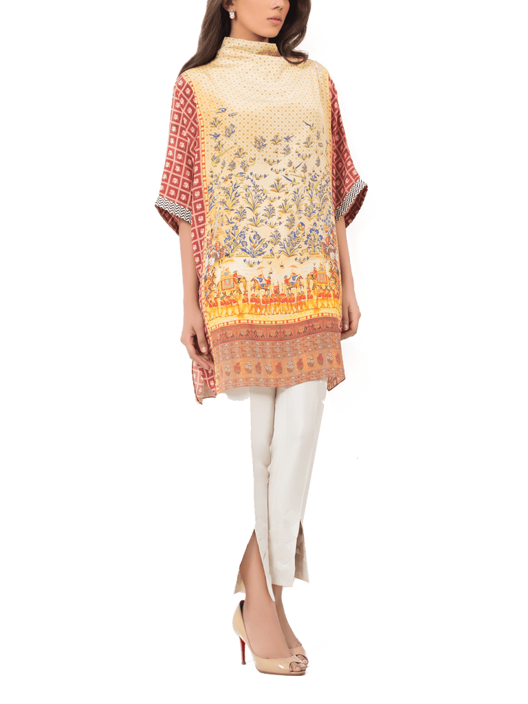 Sania Maskatiya - Digitally Printed Crepe Shirt