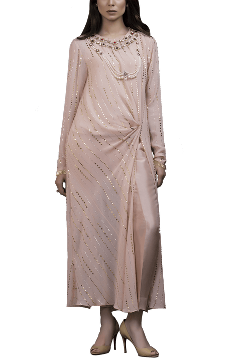 Sania Maskatiya - Georget Long Kamdani Shirt