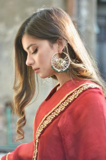 Chapter 13 - Golden Phool Jaal Baali Earrings