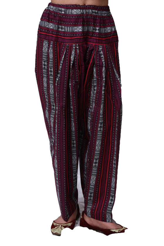 Generation - Purple Asiatic Striped Shalwar