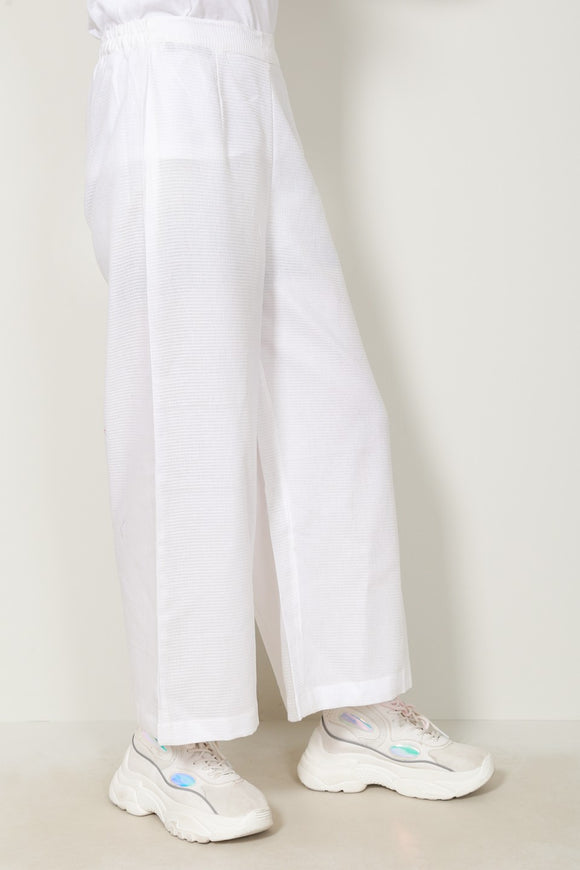 Generation - White Flared trousers