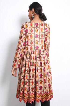 Generation - Beige Hooked Frock - 1 PC