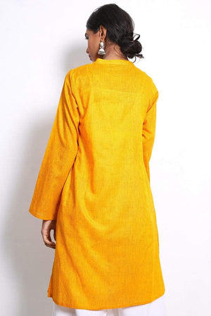 Generation - Orange Dhaaga Kurta - 1 PC